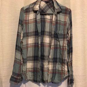 Flannel shirt size L